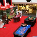 Mobiles Casino in einem Möbelhaus