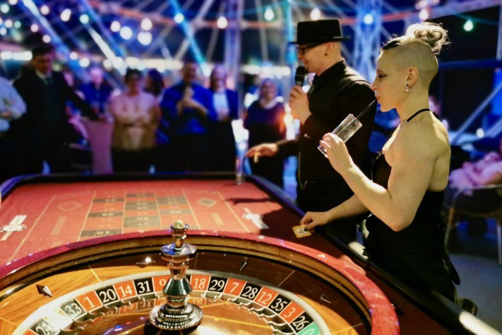 Roulette mit Gastgebern
