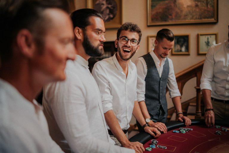 Freude beim mobilen Casino
